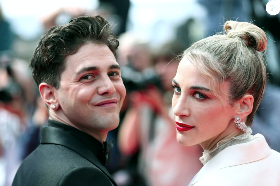 Xavier Dolan & Nancy Grant, Cannes Film Festival