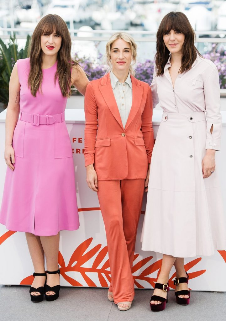 Anne-Élizabieth Bossé, Nancy Grant, Monia Chokri, Cannes Film Festival